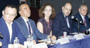 Asociación Mexicana de Autoridades de Movilidad (AMAM), nombrando Rufino H León Tovar como el primer presidente del organismo