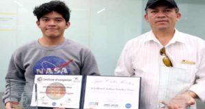 Estudiante mexicano es uno de los ganadores de un concurso de la NASA