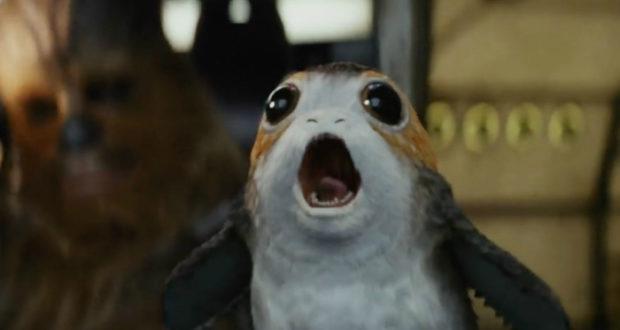 El director Rian Johnson revela la razón de la creación de los Porgs, una criatura tierna que aparece en le tráiler de Star Wars Episodio VIII.