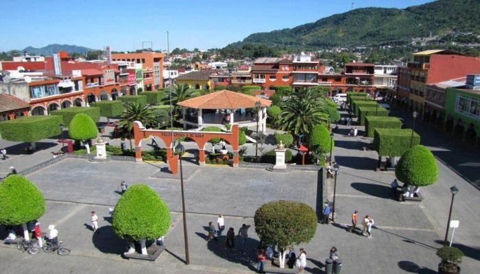 Una imagen del Pueblo Mágico de Xicotepec en Puebla