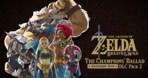 Usuario descubre que el segundo paquete de DLC de Zelda Breath of the Wild estaría llegando a las consolas de Nintendo en diciembre 2017.