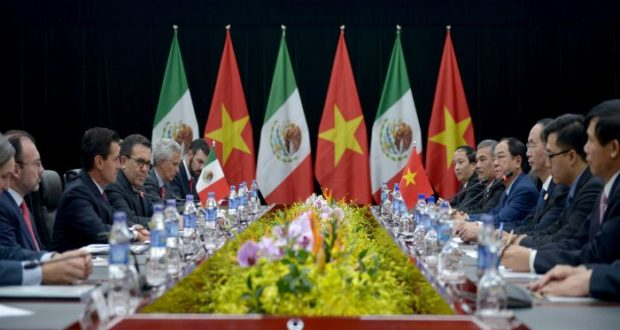 México y Vietnam fortalecen relación comercial e impulsan el TTP11 al tiempo en donde el TLCAN ha entrado en una etapa complicada y de incertidumbre.