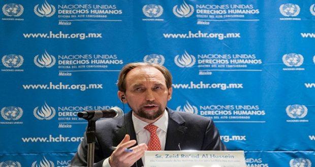 Comisionado de la ONU pide no aprobar Ley Interior de Seguridad en México