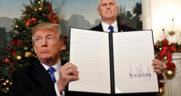 Trump reconoce finalmente a Jerusalén como la capital de Israel