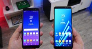 Filtran video que muestra las características de los smartphone Galaxy A8