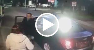 Chófer de Cabify que fue grabado pateando a una mujer fue despedido [Video]