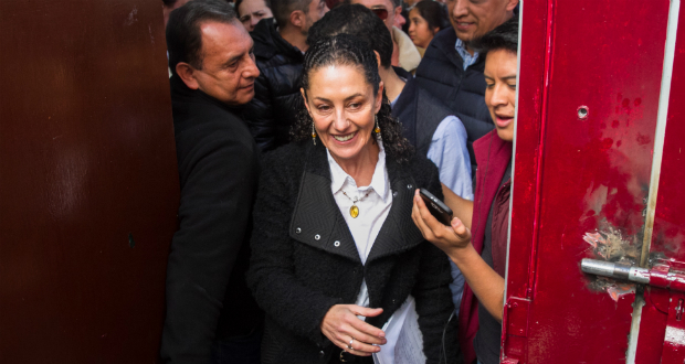 Claudia Sheinbaum se registra como candidata para la CDMX