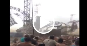 Escenario se derrumba sobre un DJ durante festival musical [Video]