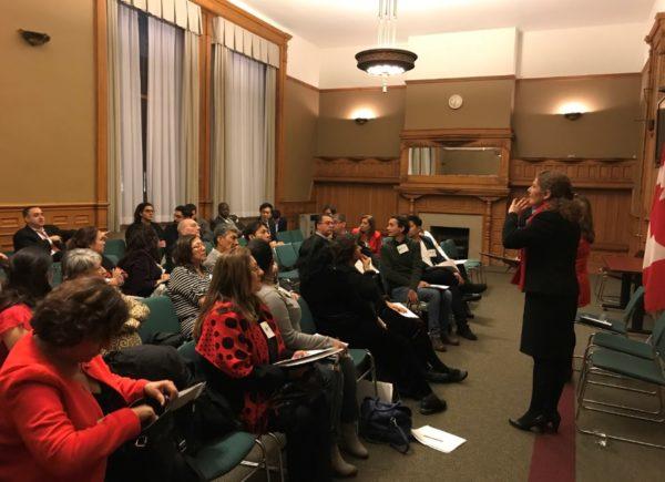 Liberales en Canadá crean grupo de Amistad con comunidad hispana