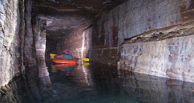 Un laberinto subterráneo, creado durante la era de hielo, fue localizado en Canadá
