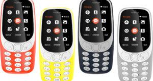 Nokia se encuentra trabajando en el lanzamiento de su renovado 3310.