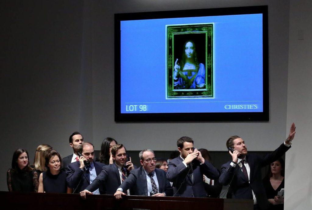 Subasta cuadro da Vinci