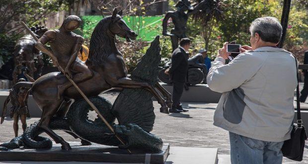 Las esculturas de Dalí ya están en la Ciudad de México