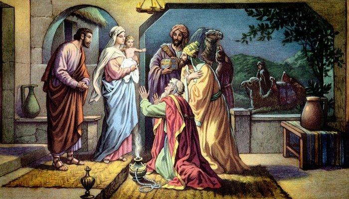 Historia original de los tres reyes magos