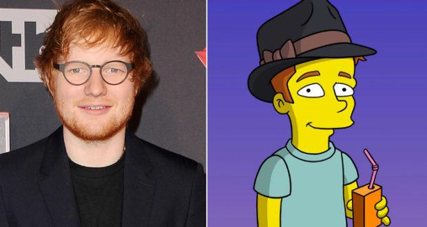 Ed Sheeran aparecerá en el próximo capítulo de Los Simpson