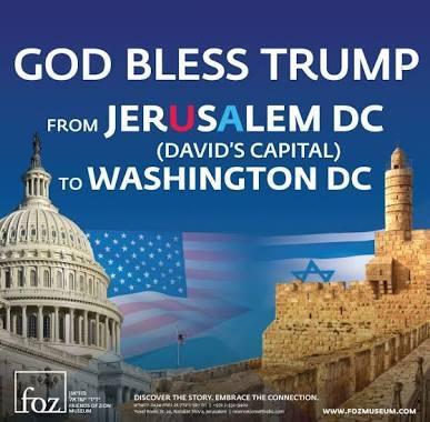 God bless Trump