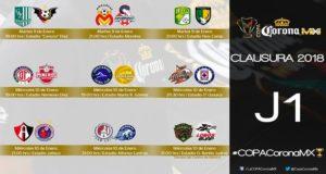 Entérate aquí de los partidos, horarios y grupos de la Copa MX del Clausura 2018 para que no te pierdas del arranque que traerá 9 juegos entre equipos de Primera División y Liga de Ascenso.