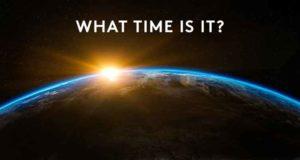 """Doomsday Clock 2018: Científicos adelantan 30 segundos Reloj del Apocalipsis La humanidad está a dos minutos para la media noche, hora del juicio final que marca el reloj del apocalipsis o """"doomsday clock"""", fijado por científicos."""