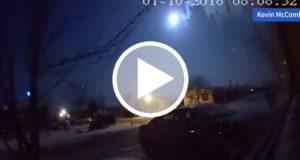 Meteorito cae en Michigan y provoca pánico y ligero sismo [Video]