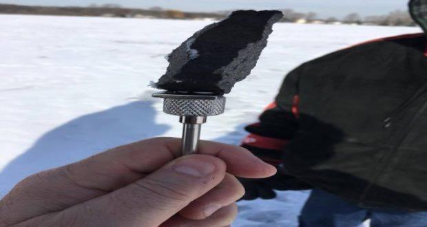 Localizan los primeros fragmentos del meteorito que cayó en Michigan