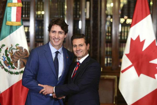México y Canadá han reforzado las relaciones y son aliados estratégicos