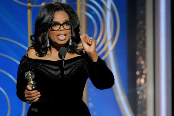 Oprah Winfrey es la voz de la esperanza en Hollywood. ¿Sigue la Casa Blanca?