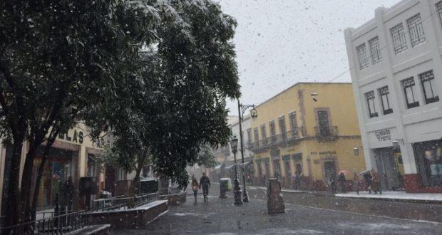 Bajas temperaturas provocaran nevadas al norte de México