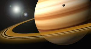 NASA teoriza el posible origen de los anillos de Saturno.