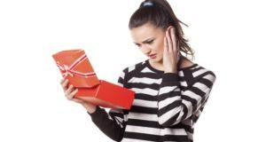 no me gusto el regalo