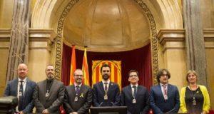 Parlamento de Cataluña elige a nuevo presidente, un independentista