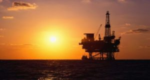 Yacimiento de petroleo en el Golfo de México
