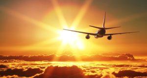 Los pasajeros del vuelo celebraron el año nuevo dos veces
