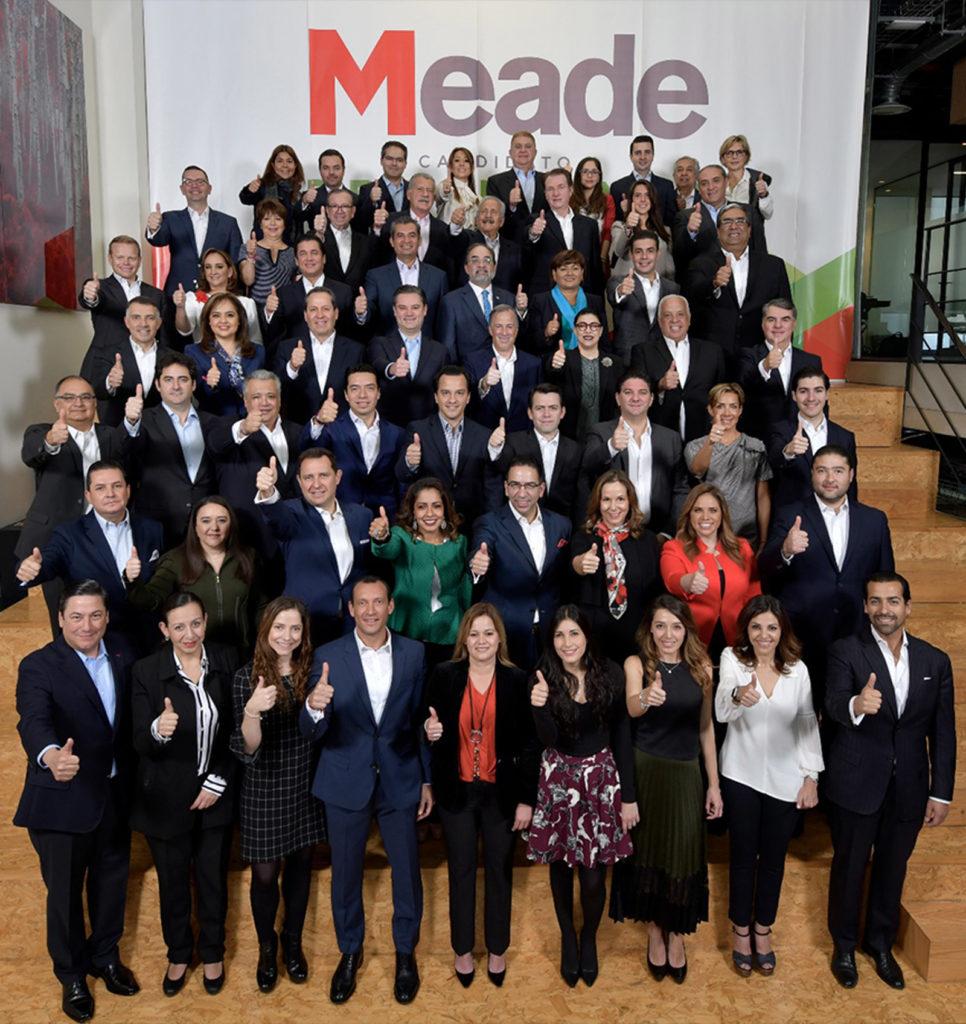 Elecciones 2018: José Antonio Meade presenta equipo de campaña