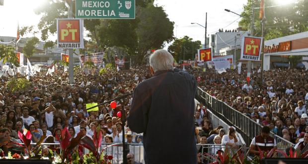 AMLO se convertirá en candidato presidencial este domingo… por tercera ocasión