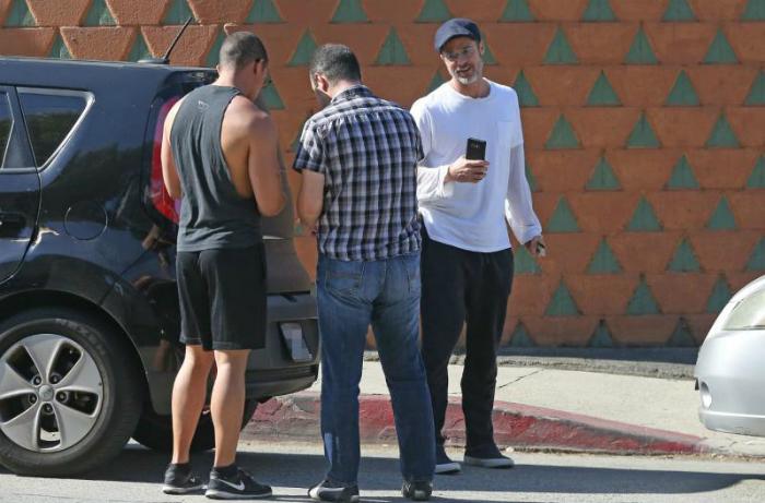 Brad Pitt provoca una carambola en Los Ángeles, California