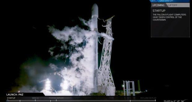 SpaceX vuelve a lanzar un choete Falcon 9 cuya carga es el primer satélite espía español