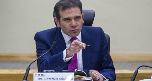 INE no tiene facultades para brindar seguridad a precandidatos: Córdova