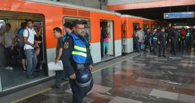 Policías han evitado 81 suicidios en el Metro de la CDMX