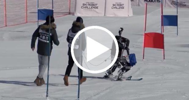 Robots esquiadores hacen su debut en Pyeongchang 2018 [Video]