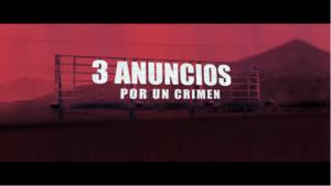 Tres anuncios por un crimen