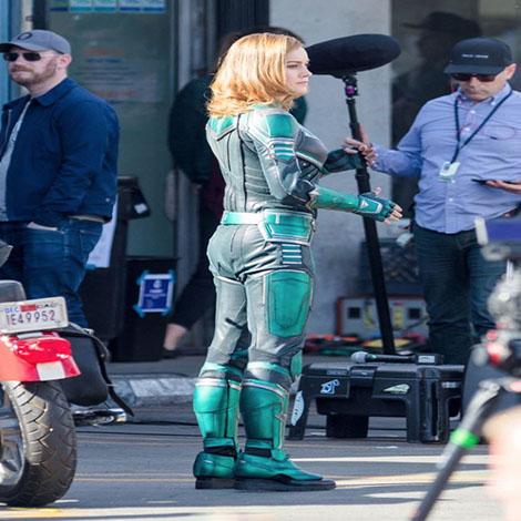 Kevin Feige responde ante las imágenes filtradas de Capitán Marvel
