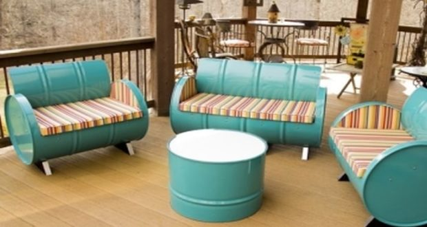 Crea accesorios, muebles y decoraciones a partir de elementos de desecho, recicla y ahorra mucho dinero en comparación a si compraras los objetos nuevos.