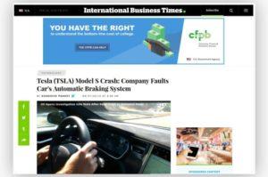 Sitio web de IBTimes