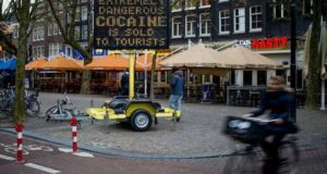 Amsterdam, Holanda, drogas