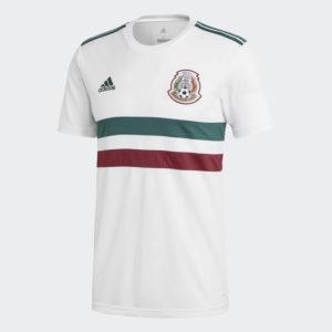Uniforme visitante México