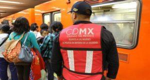 CDMX personal Metro