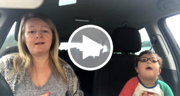 Carpool Karaoke de mamás apoyando la difusión del Día Mundial del síndrome de Down se vuelve viral