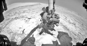 Vehículo de la NASA aplica nuevo método de perforación en Marte