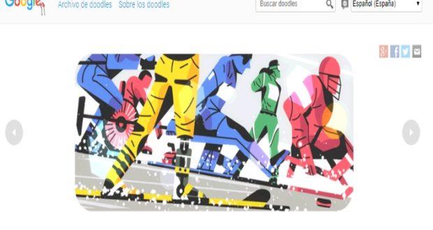 Juegos Paraolímpicos son homenajeados con un Doodle por Google