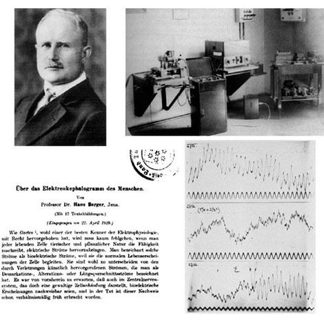 Hans Berger y su laboratorio